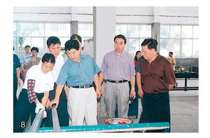 原福建省副省长贾锡太现场参观闽发铝业公司和指导工作
